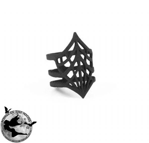 Rogue + Wolf BLACK WIDOW Gothic Ring